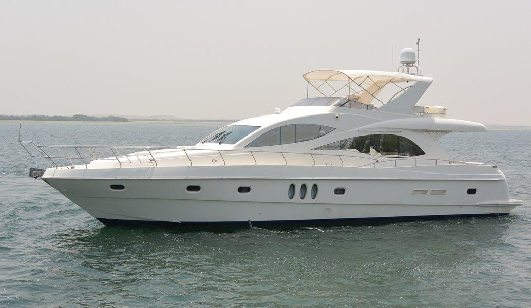 70ft rental yacht