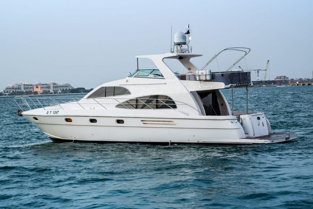 55ft private party cruise in dubai